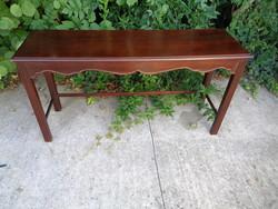 Mahagóni konzol asztal