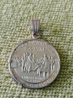 Thomas Jefferson ezüst medál