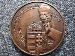 Mindszenty József bíboros emlékére 1991 bronz érem (id41278)