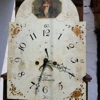 Baroque standing clock