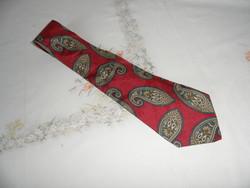 Török mintás selyem nyakkendő