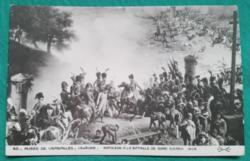 Napóleon,fekete-fehér művész képeslap