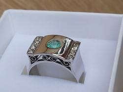 Art decos f arany gyűrű