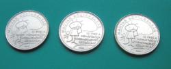 2005 - 15 éves a Nemzetközi Gyermekmentő Szolgálat - 50 Forint  forgalmi érme emlékváltozata