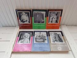 Maurice Druon: Az elátkozott királyok sorozat I-VI.kötet