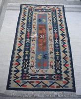 Antik kilim szőnyeg 170 x 90 cm további felhasználásra , párna , tarisznya , ...