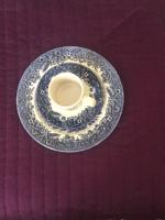 Churchill porcelán 6 süteményes tányér  + 5 kávéscsésze + tányérral