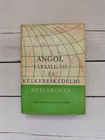 Retro angol külkereskedelmi nyelvkönyv és szótár_1973-74
