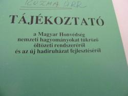 Magyar Honvédség őltözetirendszerének tájékoztató füzete