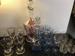 Festett üveg italos
