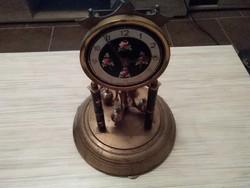 Antik forgó ingás kandalló óra. Alkatrésznek.