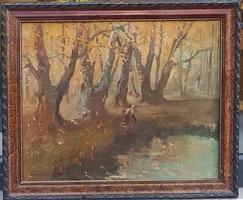 Zórád Géza (1880-1960) : Erdőrészlet