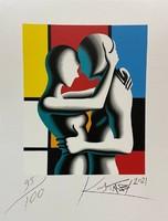 Mark Kostabi (1960) - Modern Love 35x45