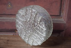 Üveg lámpabúra , lámpa , csillár búra 29 cm ø