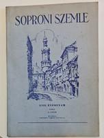 Soproni Szemle 1963/2