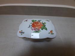 Herendi PBR mintás porcelán bonbonier