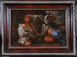 Bernhard Keilhau, Monsu Bernardo (1624-1687) Fiatal fiú kutyával