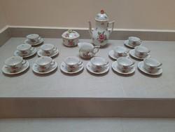 12 személyes Herendi PBR mintás kávéskészlet