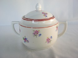 Zsolnay porcelán cukortartó