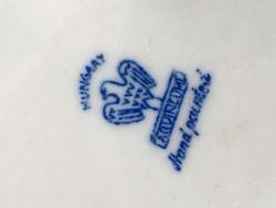 Aquincumi gesztenyesütő porcelán figura