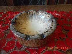 Zsolnay pirogránit hamutartó / hamutál
