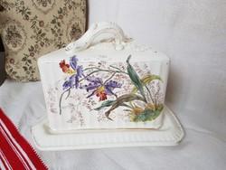 Franz Anton Mehlem Antik porcelàn sajttartó
