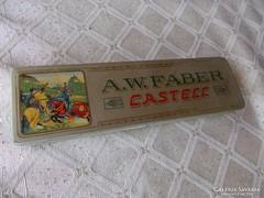 Faber Castell régi toll doboz