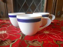 Zsolnay Török János kávés csésze