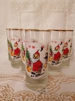 Karácsonyi,retro poharak