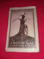 1920 Krúdy Gyula  A betyár álma/Kleofásné kakasa ÉS MÁS ELBESZÉLÉSEK képek szerin Atheneumt