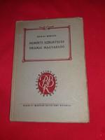 1941Hubay Miklós: Nemzeti színjátszás drámai magyarság könyv a képek szerint