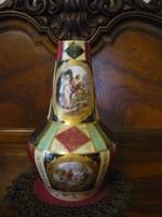 Alt wien porcelán váza, régi, 24 cm. magas 2108 23