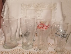 COCA-COLÁS poharak