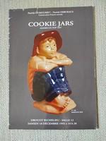 Porcelán / kerámia kekszes dobozok - francia/angol aukciós katalógus - Drouot