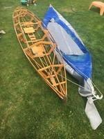 Faltboot régi német újszerű állapotú összerakható kajak
