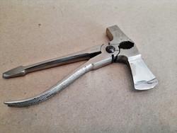 Antik német nikkelezett acél multi szerszám