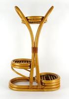 1F834 Retro bambusz három állásos virágtartó 62 cm