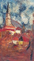 Ism. Painter: village detail