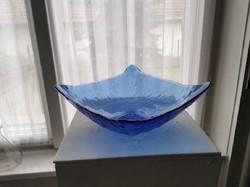 Üveg tányér, tál, retro