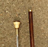 Fényképtartós fogóval Tőrösbot, sétabot széthúzható