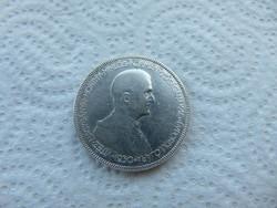 Horthy ezüst 5 pengő 1930 02