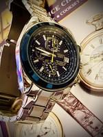 Citizen world chronograph wr200 blue !