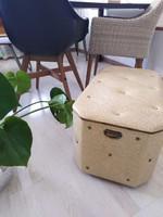 Art déco - előszobai tároló, ülőke / foglalva