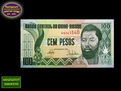 UNC - 100 PESO - BISSAU-GUINEA - 1990