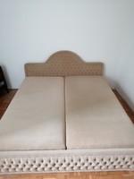 Dupla kanapéágy ágyneműtartóval