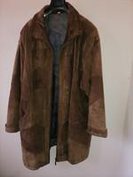 Szebbnél szebbek molett nálam őszi téli női vatelines köztes béléssel bőr kabát 130 széles 88 hosszű