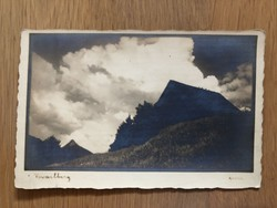 Antik Vorarlberg - Ausztria képeslap - postatiszta