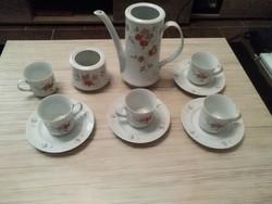 Alföldi porcelán kávés készlet. Hiánypótlásra.