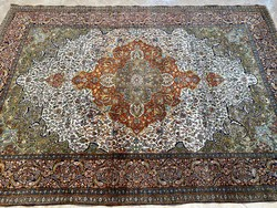 Iran Patina Tabriz selyemmel 295x206cm