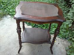 Antik, ónémet asztalka, 68cm magas. OLCSÓBB!
